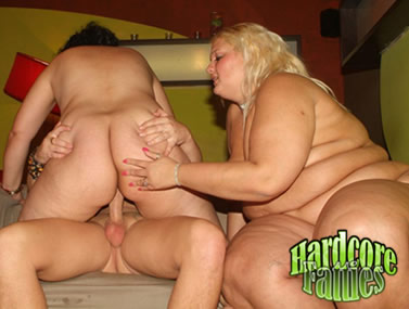 Big Babes Taking Turns In Riding