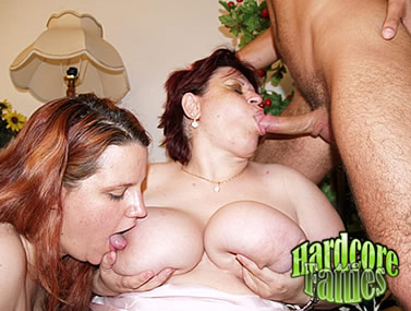 BBW Martha and Chaste Threesome