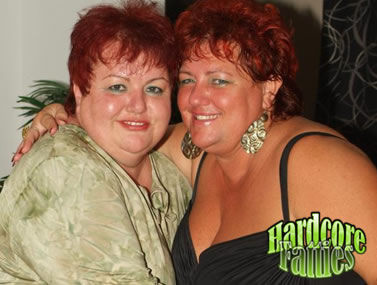 Redhead Fatties Having a Threesome